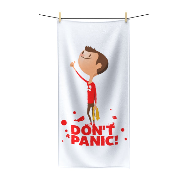 Don't Panic! Beach Towel