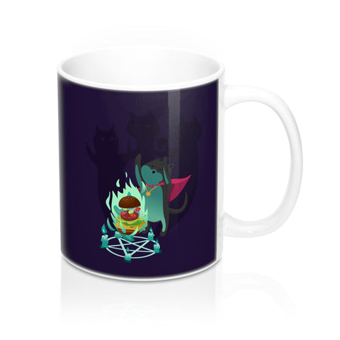 Cat Mage Mug 11oz