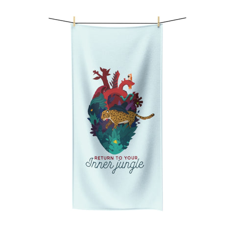 Inner Jungle Beach Towel