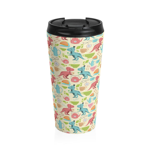Tea Rex Stainless Steel Travel Mug