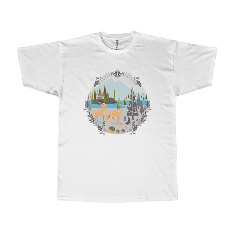 Nordic forest - Adult T-shirt