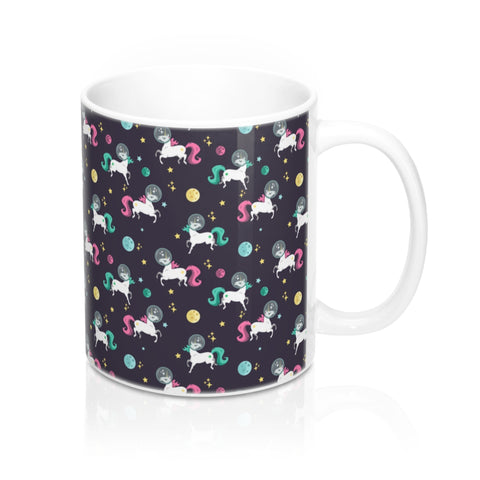 Space Unicorn Pattern Mug 11oz