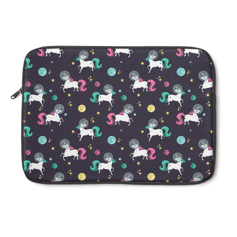Space Unicorn Pattern Laptop Sleeve