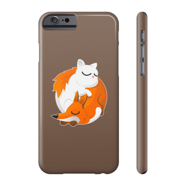 Cat and Fox Phone cases