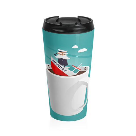 Captain Monday Stainless Steel Travel Mug