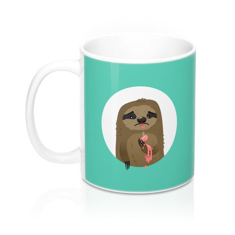 Cruel sloth summer Mug 11oz