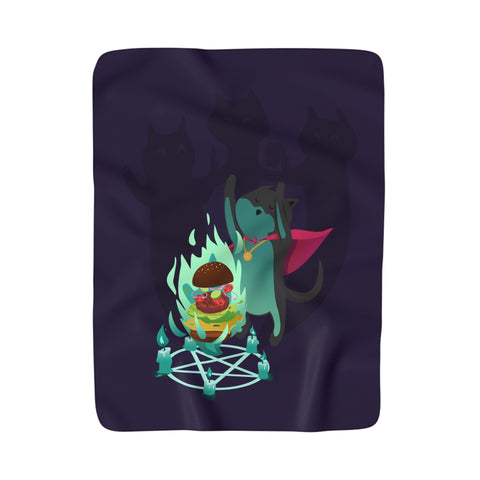 Cat Mage Blanket