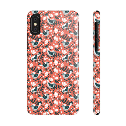 Birds and Blossoms Phone Case