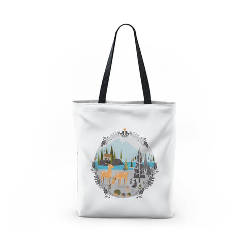 Nordic forest Tote Bag