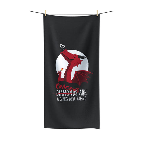 Dragon friend Beach Towel