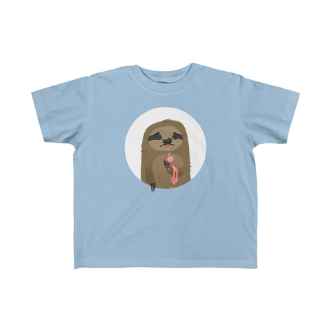 Cruel sloth summer Toddler  Tee