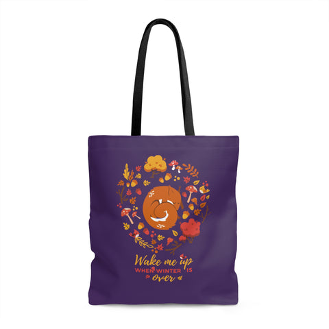 Squirrel Forest Tote Bag