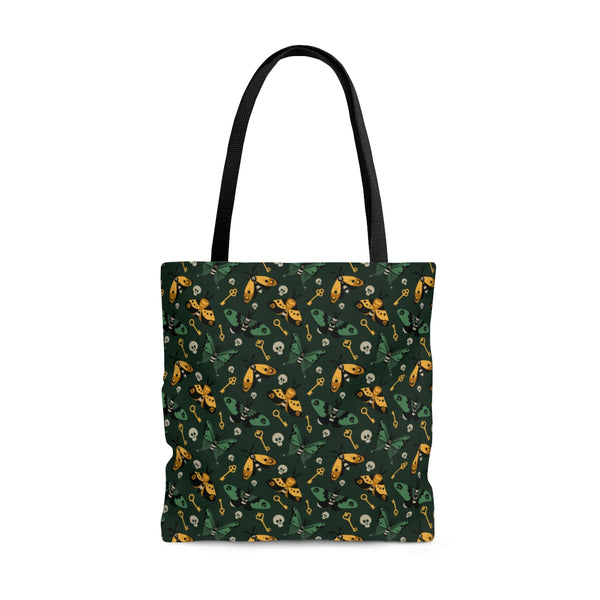Moth and Key Tote Bag - Two sided