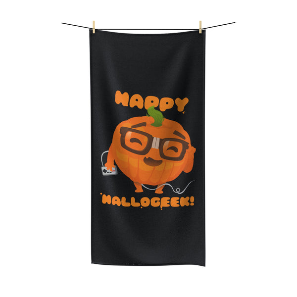 Happy Hallogeek! Beach Towel