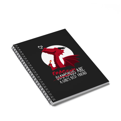 Dragon friend Spiral Notebook - Ruled Line