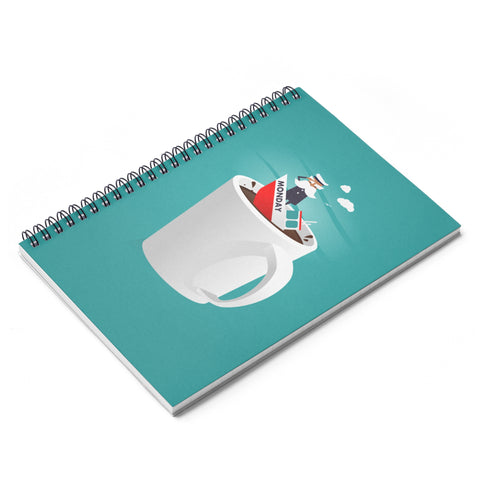 Captain Monday Spiral Notebook - Ruled Line