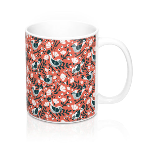 Birds and Blossoms Mug 11oz