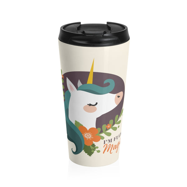 Magical Unicorn Stainless Steel Travel Mug