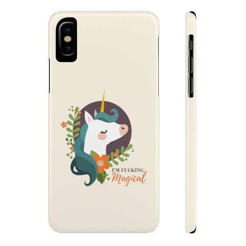 Magical Unicorn Mate Slim Phone Case