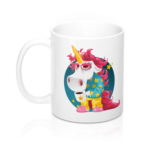 Morning Coffee Unicorn Mug