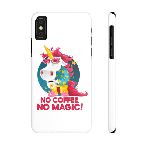 Morning Coffee Unicorn Phone Case