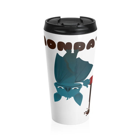 Having a Bat Day - Stainless Steel Travel Mug
