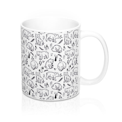 Inky Bears Mug 11oz