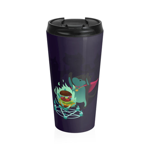 Cat Mage Stainless Steel Travel Mug