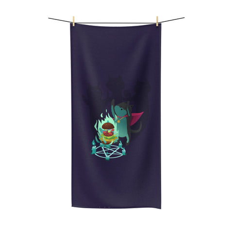 Cat Mage Beach Towel