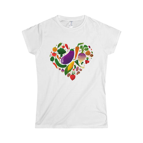 Vegan Love Women's T-Shirt