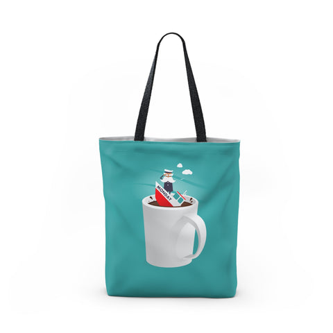 Captain Monday Tote Bag
