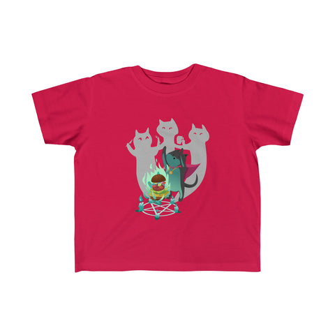Cat Mage Toddler Jersey Tee