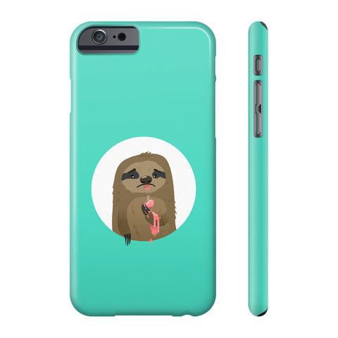Cruel sloth summer Phone case