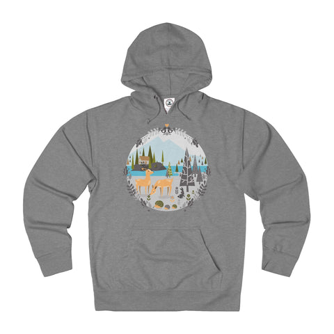 Nordic forest Unisex Hoodie
