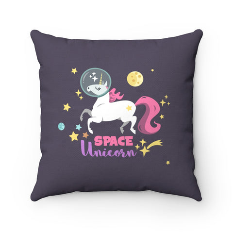 Space Unicorn Square Pillow Case