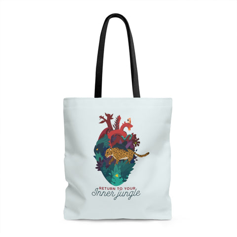 Inner Jungle Tote Bag