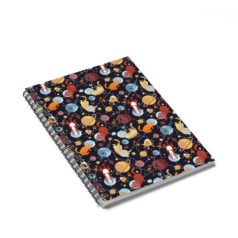 Catronauts Notebook - Ruled