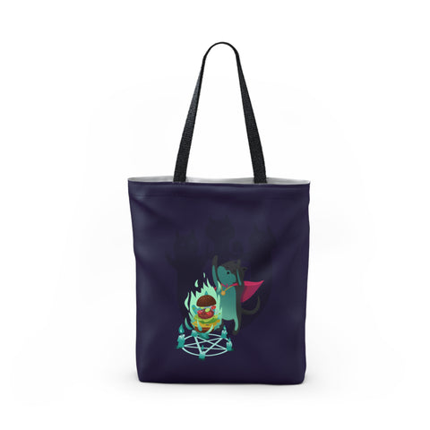 Cat Mage Tote Bag