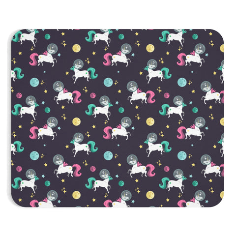Space Unicorn Pattern Mousepad