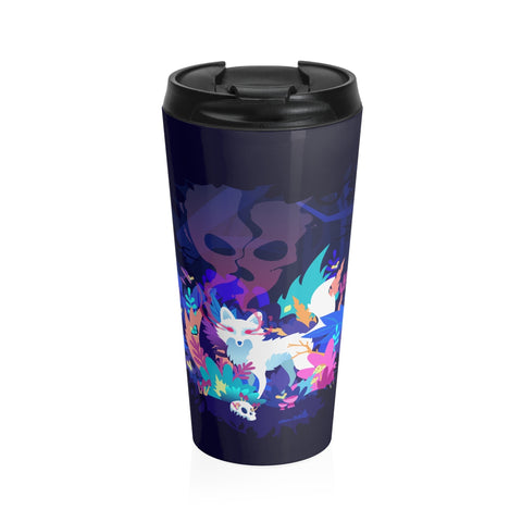 Fox of the Dream Forest Stainless Steel Travel Mug