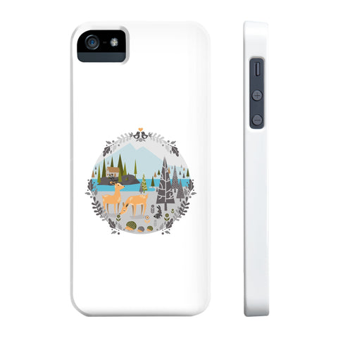 Nordic forest Phone cases