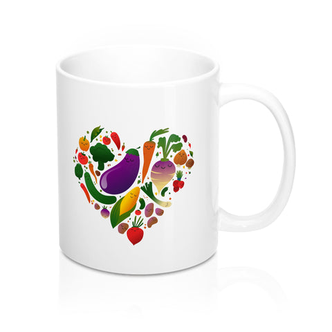 Vegan Love Mug 11oz