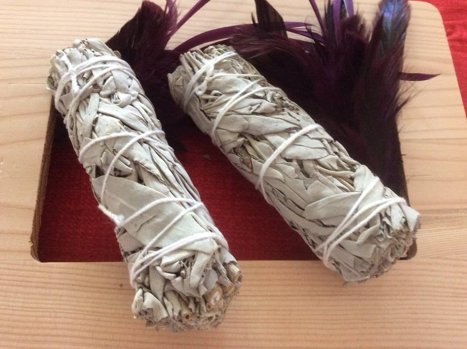 White Sage Smudge Sticks - The City Witches