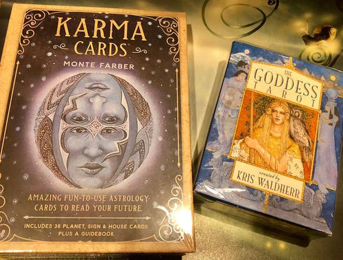 Karma Card Tarot Deck and The Goddess Tarot - The City Witches