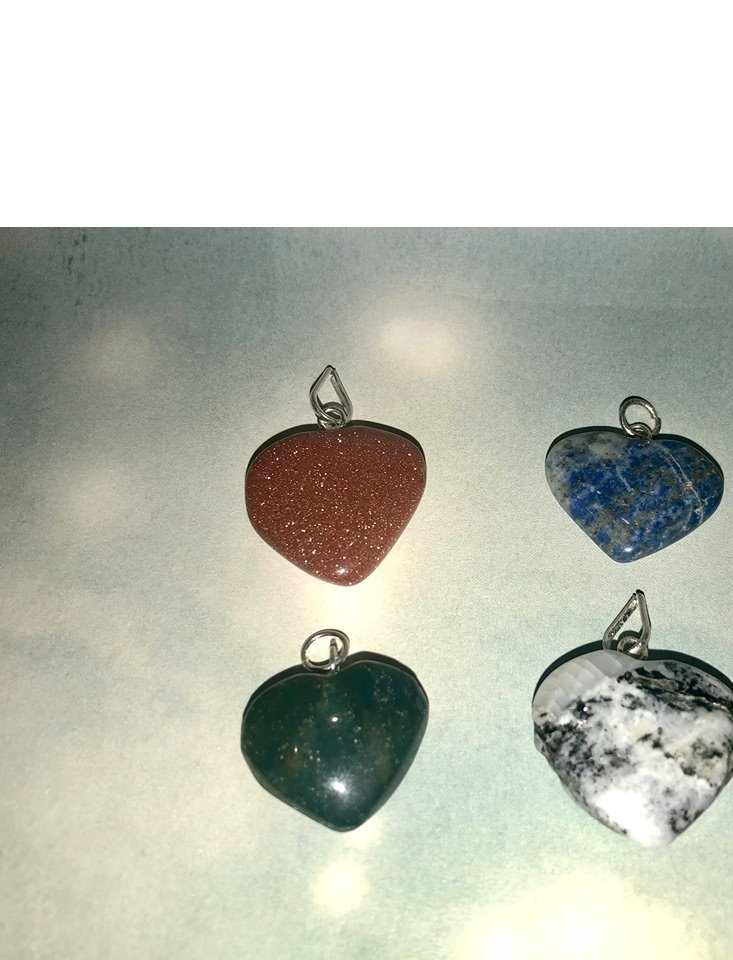 Small Heart Pendants. Perfect for Chokers! - The City Witches