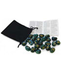 Bloodstone Rune set by Lo Scarabeo - The City Witches