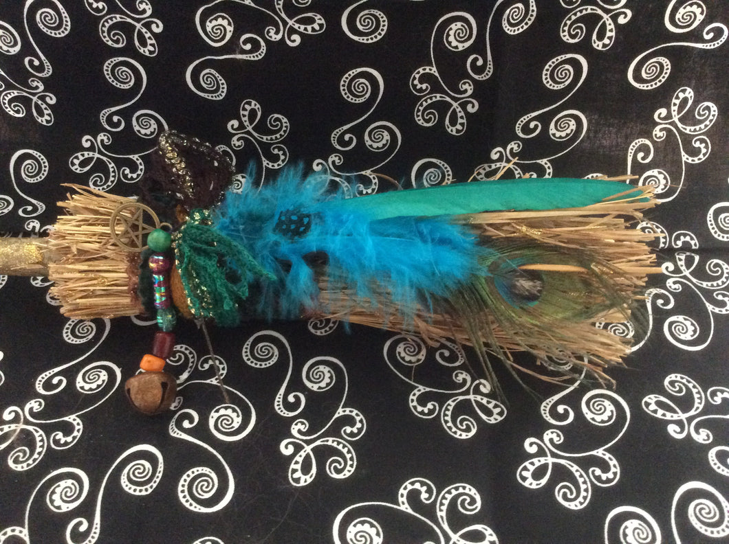 Custom Handmade Besom - The City Witches