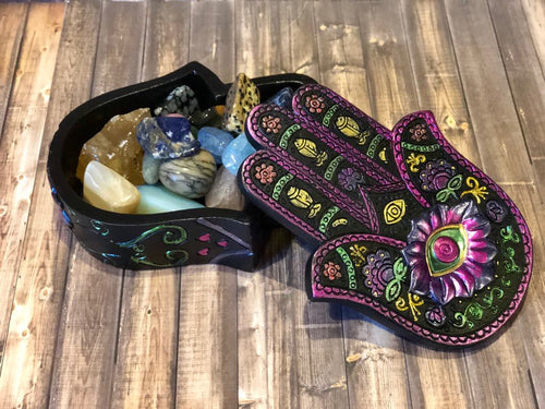 Hamsa Keepsake Box - The City Witches