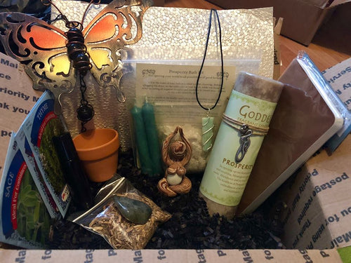 New Beginnings March Box - The City Witches