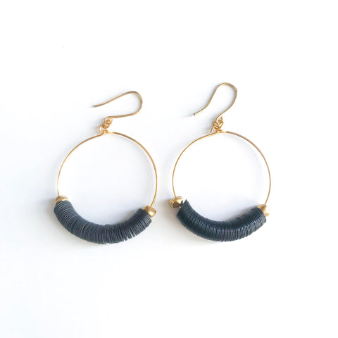 Adeen Hoop Earrings